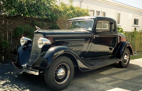 Picture retro, classic, 1934, Dodge Coupe
