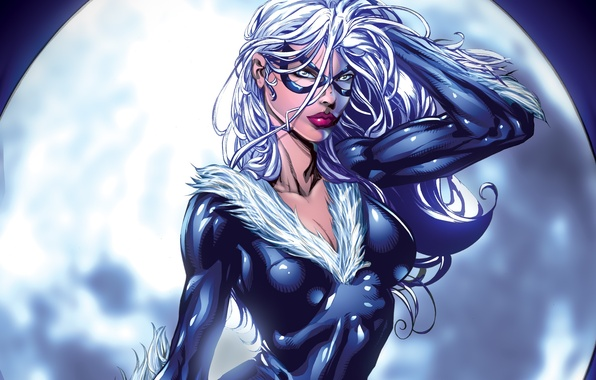 Picture marvel, Marvel Comics, black cat, Black cat, Felicia Hardy