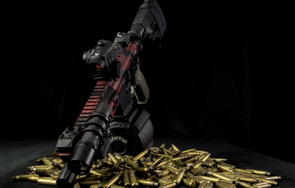 Picture background, rifle, sleeve, assault, AR-15