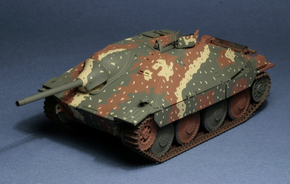 "Picture toy, installation, self-propelled, artillery, model, easy, German, Hetzer, ""Hettser, Jagdpanzer 38"