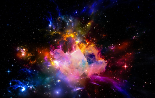 Picture space, stars, the universe, space, Universe, background, stars, astral