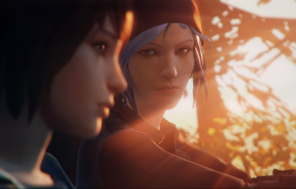 Picture sun, Max, Chloe, Life is strange