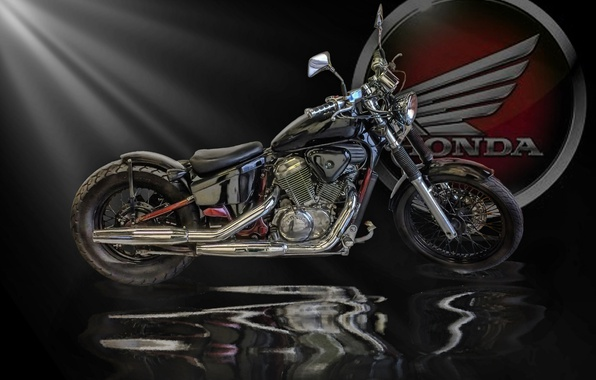 Photo wallpaper motorcycle, bike, honda