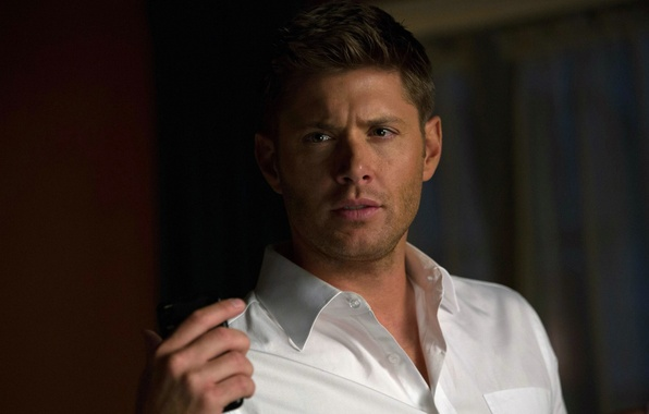 Picture actor, shirt, Supernatural, Jensen Ackles