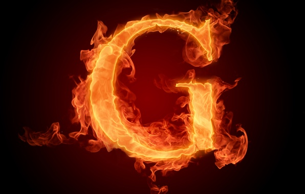 Picture fire, flame, letter, alphabet, Litera, latinika
