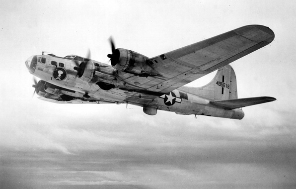 Picture Boeing, American, B-17