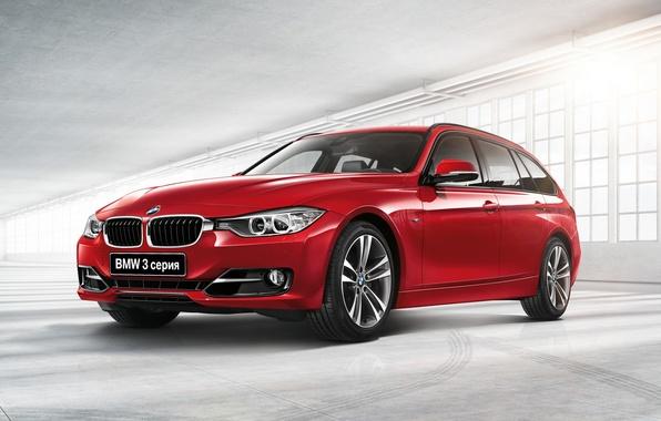 Photo wallpaper BMW, BMW, 3 series, universal, Touring, F31, 2015