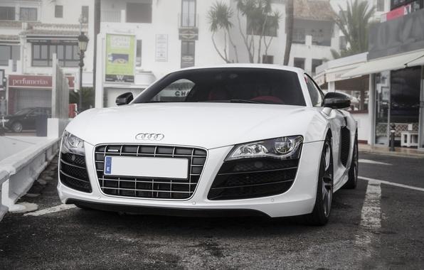 Picture Audi, Audi, white, before, white