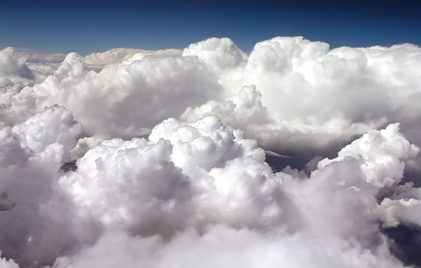 Picture the sky, clouds, the atmosphere