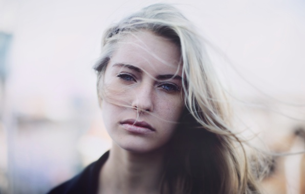 Picture look, girl, mood, hair, blonde