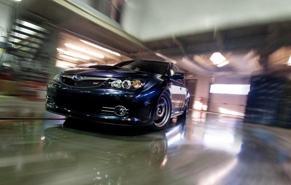 Photo wallpaper STi GRB, Subaru, Impreza