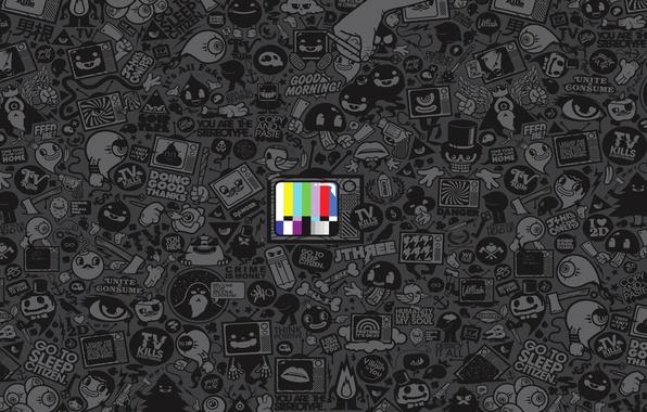 Picture art, media, Jared Nickerson, TV, propaganda