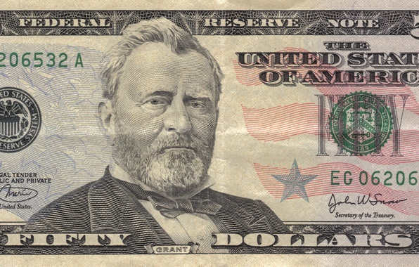 Picture note, america, states, Grant, dollars, United, federal, fifty
