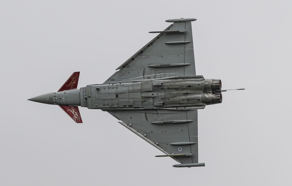 Picture fighter, flight, multipurpose, Typhoon, FGR4