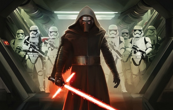 Picture Star Wars, Dark, Action, Fantasy, Black, Warrior, Laser, The, Wallpaper, Jedi, Army, Force, Year, Weapons, ...
