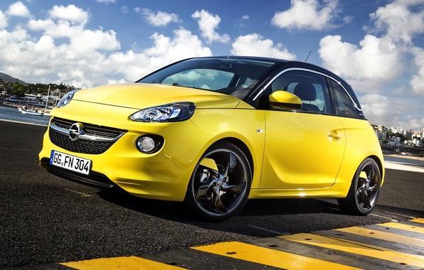 Picture Opel, Opel, Adam, 2013, OPC, Slam, Adam, Line Pack
