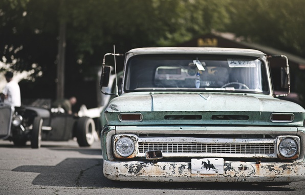 Picture hot, Chevrolet, chevrolet, pickup, pickup, rod, hot, rod