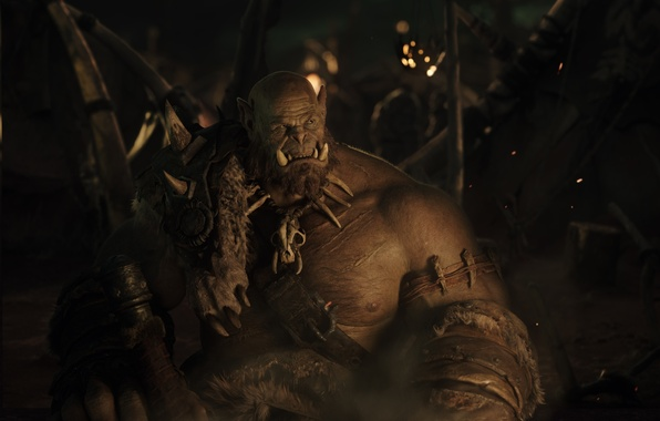 Picture the film, frame, twilight, Warcraft, Warcraft, Orc