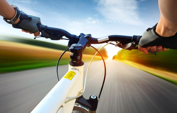 Picture road, bike, sport, view, speed, goal, blur, face, extreme, bike, racer, bokeh, Cycling, travel, racer, ...