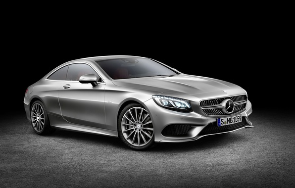 Picture Mercedes-Benz, Coupe, S-Class, 2015