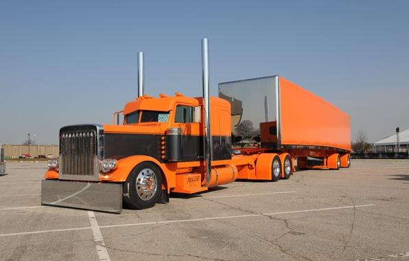 Picture custom, truck, peterbilt
