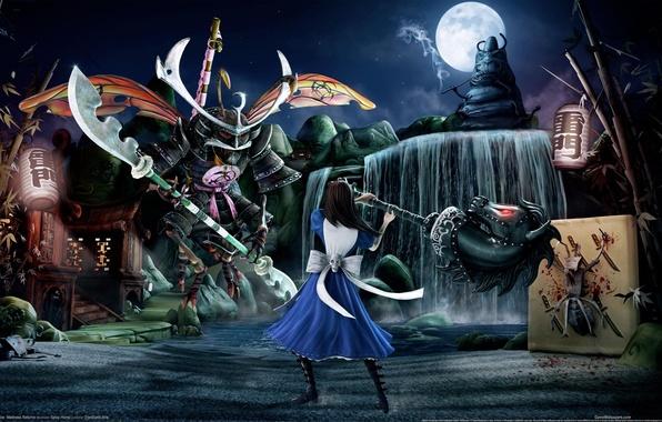 Picture Alice, madness, alice, returns