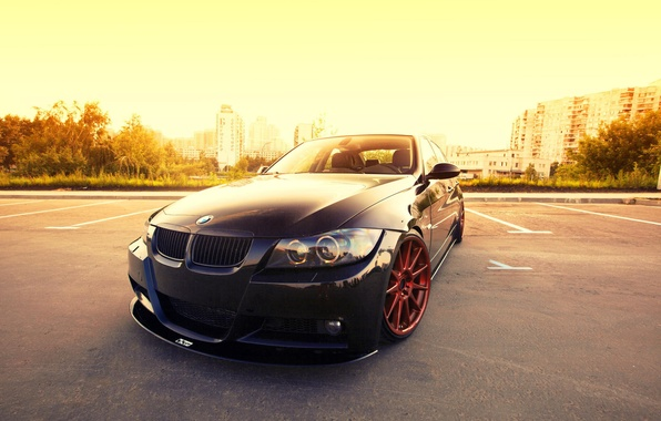 Picture BMW, low, 3 series, E90