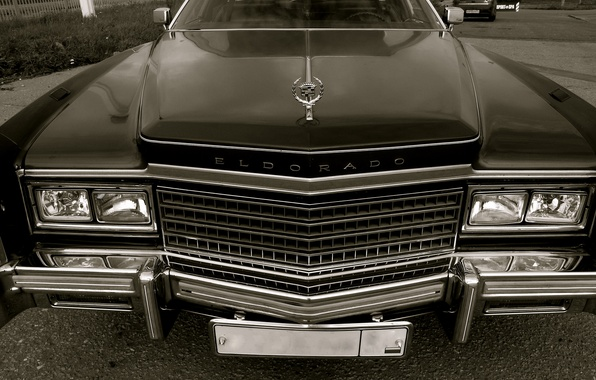 Picture Retro, Machine, Grille, Lights, Cadillac Eldorado 1978