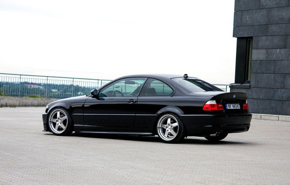 Picture tuning, BMW, BMW, tuning, E46, stance