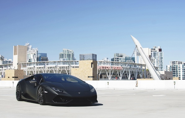 Picture car, Lamborghini, supercar, black, auto, tuning, lambo, nice, Huracan, GMG