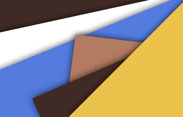 Picture yellow, geometry, brown, material