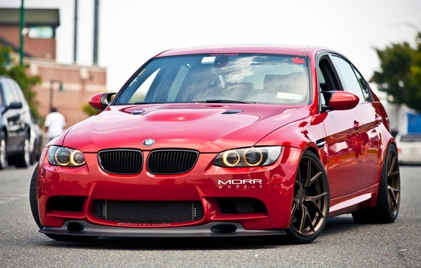 wallpaper bmw turbo red tuning power germany e90. Black Bedroom Furniture Sets. Home Design Ideas