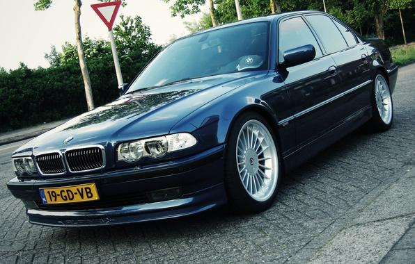 Picture tuning, BMW, classic, alpine, bmw e38, 750il