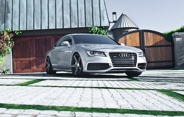 Picture car, auto, Audi, garage, hd wallpaper, Audi a7