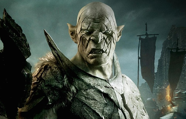 wallpaper orc hobbit azog lotr images for desktop