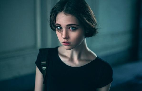 Picture portrait, the beauty, Olya, Olga Pushkina