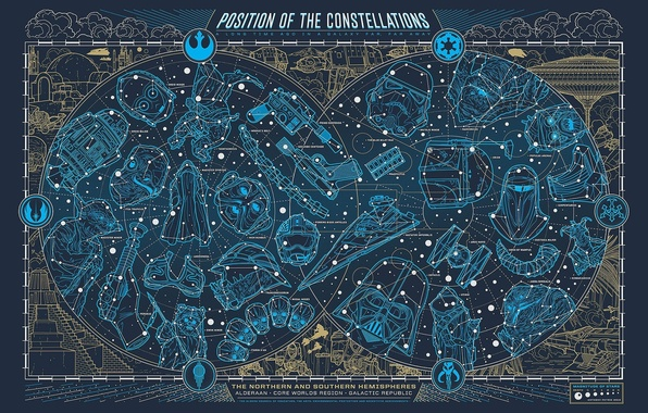Wallpaper Map Star Wars Constellation Star Wars Images
