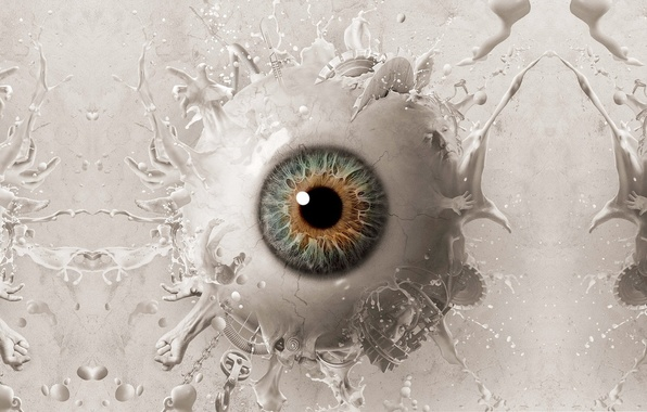 Picture eyes, art, eye