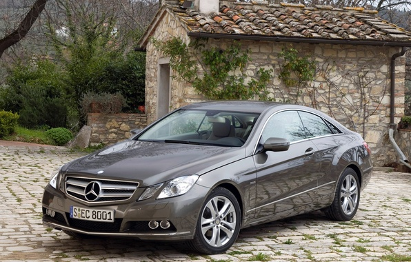 Picture machine, mercedes-benz, coupe, 212, e250