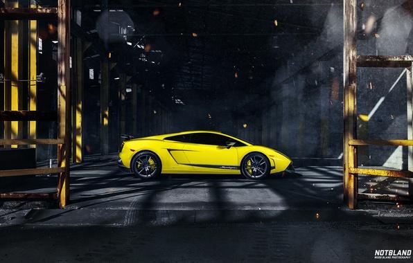 Picture Lamborghini, Superleggera, Gallardo, drives, LP 570-4, side, tinted, notbland, Webb Bland