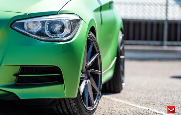 Picture machine, auto, headlight, BMW, BMW, wheels, drives, auto, 2015, Vossen Wheels