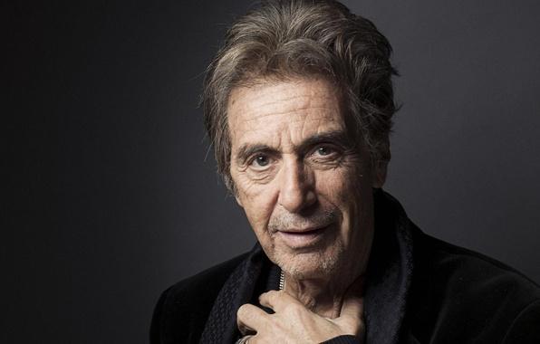 Wallpaper Gun Black And White Al Pacino Scarface