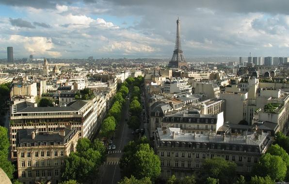 Picture the city, Eiffel tower, Paris, France, street