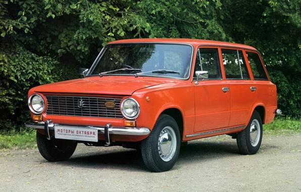 Picture red, Lada, Lada, universal, ваз2102