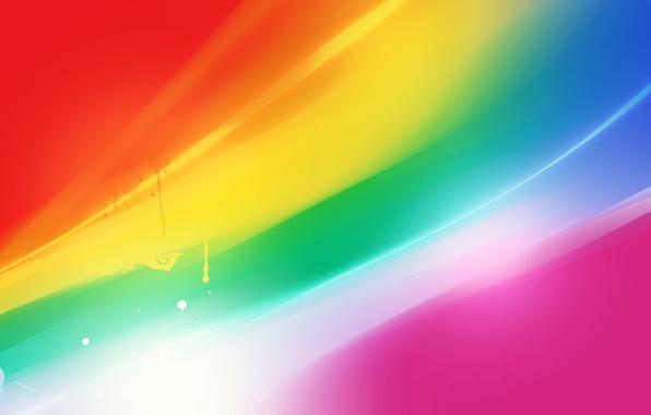 Picture wave, color, line, glare, rich, brightness