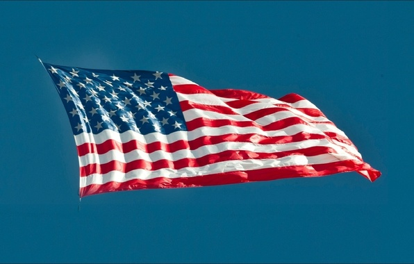 Picture USA, wallpapers, flag, America