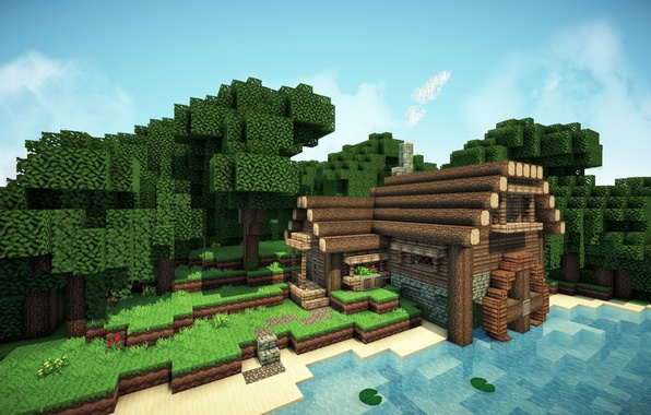 Picture wallpaper, game, home, Minecraft