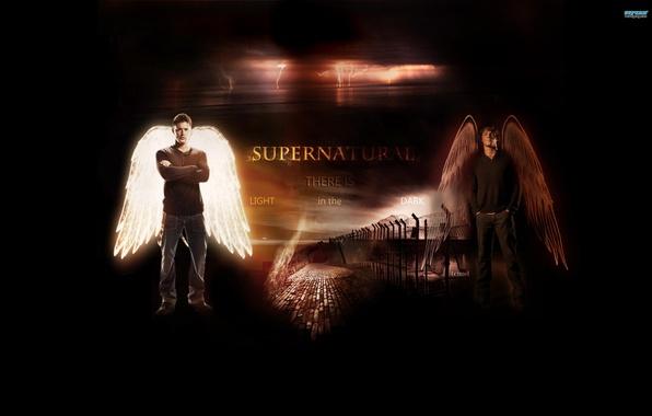 Picture Wings, Supernatural, Supernatural, Jared Padalecki, Sam Winchester, Jensen Ackles, Over The Padalecki Jared, Jensen Ackles.Dean …