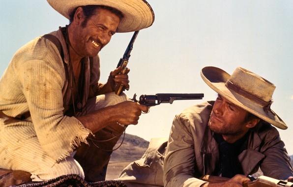 Picture actors, Western, Clint Eastwood, Good. Bad. Evil, Aldo Giuffrè
