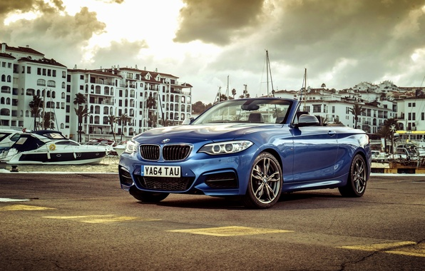 Picture BMW, BMW, convertible, Cabrio, UK-spec, 2015, M235i, F23